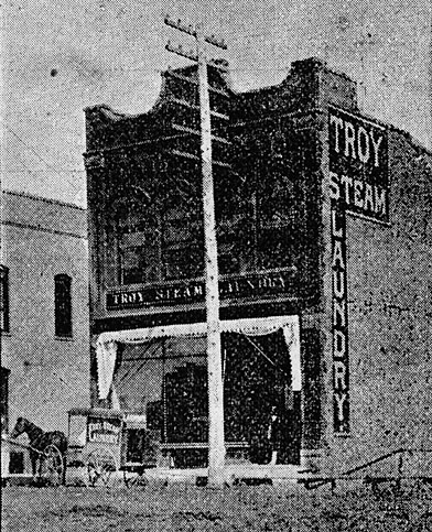 Troy Steam Laundry.