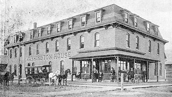 Washington House Hotel.