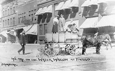 Water wagon.