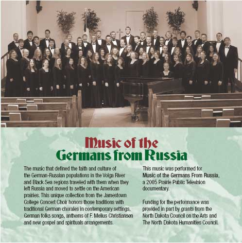 Music Of The Germans From Russia