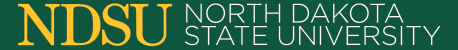 North Dakota State University Website