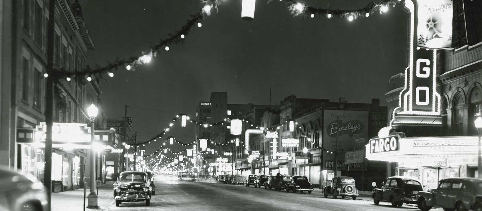 Downtown Fargo - Winter