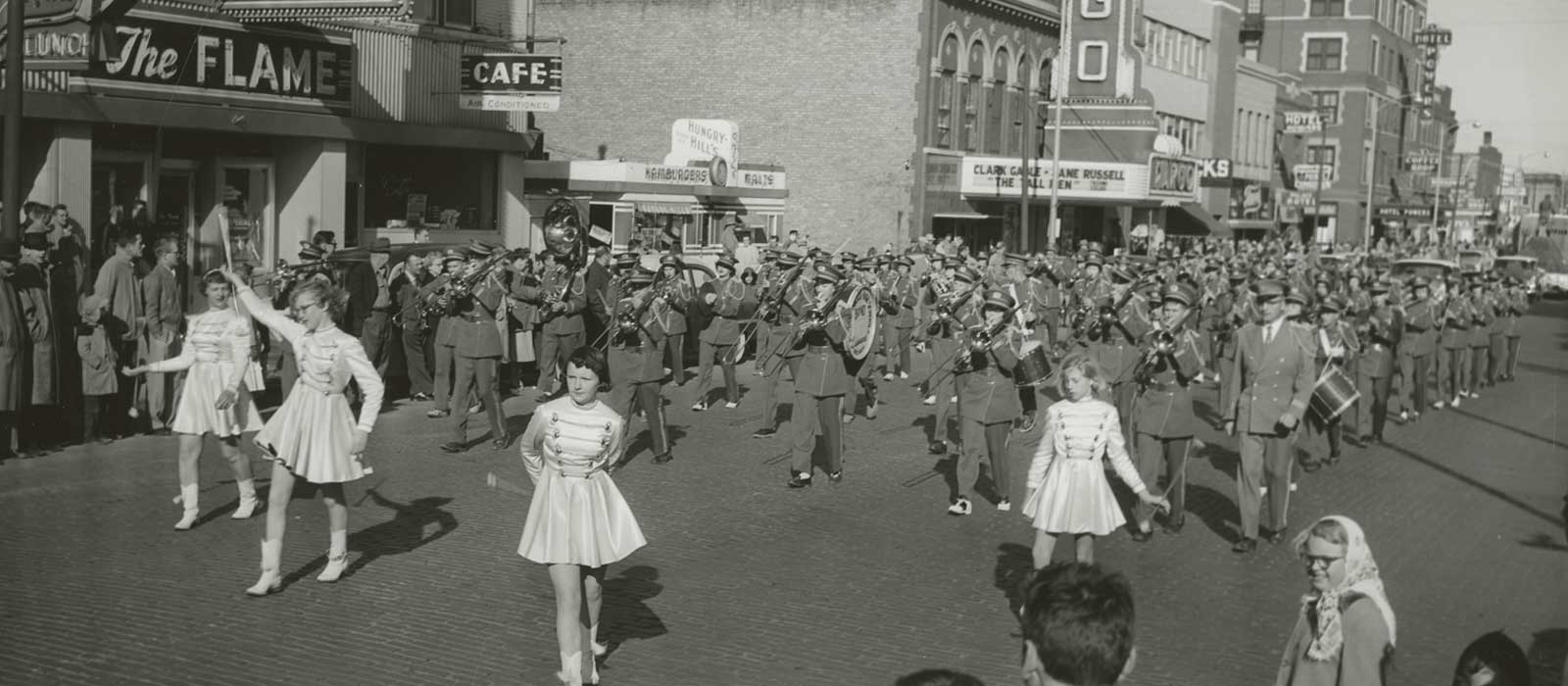 1955 Homecoming Parade - Fall