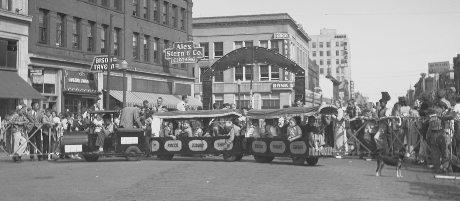 Street Fair on Broadway in 1974
